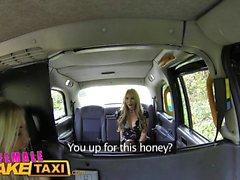 Female Fake Taxi Secret affair leads to lesbian orgasms