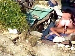Voyeurisme sexuels on beach publiques