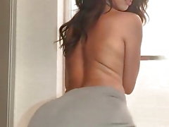 siyah üstsüz sıcak kız twerking