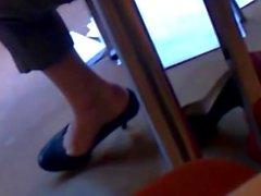 Candides Shoeplay rencontres dans la Bibliothèque Pt 1 ( faceshot )