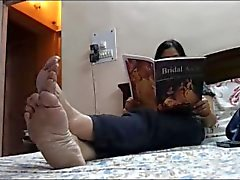 Feet of Mature indische Göttin 2