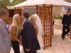 Here CUMS the bride groom