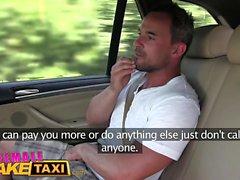 Fake Taxi Femmina Massive tits cabbie vuole il cazzo