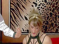 Crossdresser sissy gets cbt tt