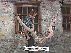 Aaron Aurora is found hanging in the mill tied to a sling