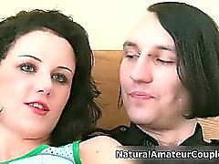 Nasty couple gets horny on the bed she part3