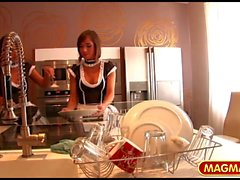 Two maids getting fucked HD
