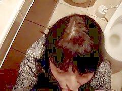 a esposa infiel ao marido no banheiro do clube de