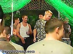 Alter Mann Homosexuell saugen und Partei und Homosexuell Gruppe Sex schlucken