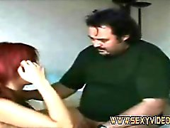 Krista sucks her client dick on hotelroom