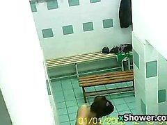 Spor Salonu Kilit Odada gizli kameranın