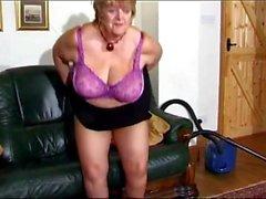 Hermosa BBW Granny Vid, Libre Hermosa Abuela Video Porno n