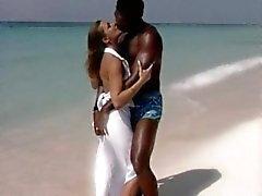 cazzo romantico sulla spiagga