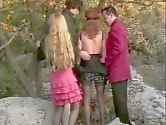 French Outdoor Foursome