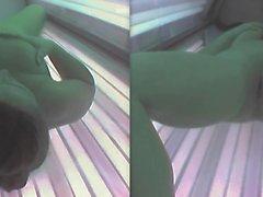 Solarium coño dedos 19