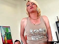 Mature milf Adriana Love rides a dick