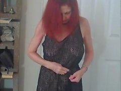 Rehot Punatukkaset Näytä ( vilkkua katso kautta dress )