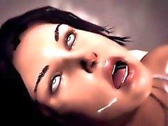 Lara Croft 3D gangbang & DP