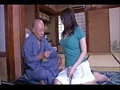 japanska sake antika mannens kämpa för att fan flicka