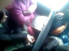 Dicking en de bus Crowded deux