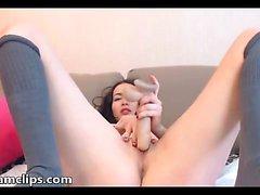 breasty poikasen soolo masturbaatio