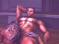 Mass Effect parodia: due nemici - Too Deep