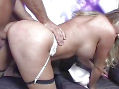 Samantha Saint sucks and fucks
