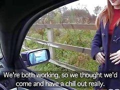 Bluff Snut Slutty Begagnade flicka knullar Policemans big cock