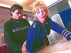 Shayla LaVeaux - Air Plane Gangbang