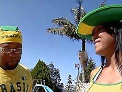 Büyük göt Brezilyalı izmaritleri