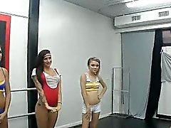 Bailarines de jodidamente director de cachondo