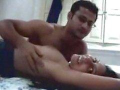 Di coppia indiano in viaggio di nozze