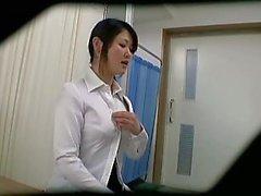Verborgen Voyeur cam op Schooldoctor