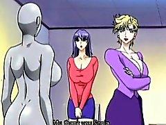 Les deux dickgirls hentais de Hottie cogner l'autre