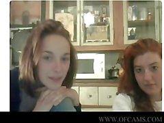 Webcam Mädchen klatschten funny der Himmel javx