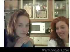 Веб-камера девочки хлопающих смешной небесный javx