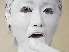 White Paint Girl