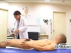 CFNM japanska milf läkare badar patienter hård penis