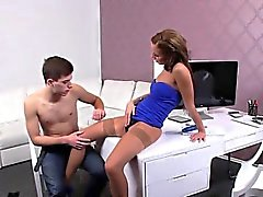 Amateu dude creampies female agent on casting