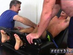 Guys big feet footjob gay Matthew Tickled To Insanity
