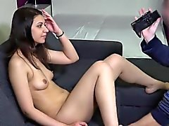 Stunning czech girl gets seduced in the supermarket and nail