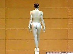 Gymnastik Nu / Голая гимнастка