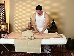 Secret film från mycket svårt massage- hemma