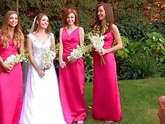 Malena Morgan, Aurielee Summers and Two Nobodies in Lesbian Foursome !!