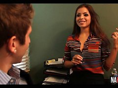 Fucking My Hot New Co-Worker Yurizan Beltran