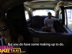 Feminino Taxi Falso acabamento facial pegajoso Big