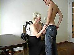 Grandma atractivos de Lena e Ivan