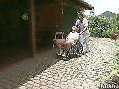 Verrückten alten Brasilianischer granny Schlampe!