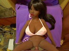 Bikini girl, fuck ebony, POV