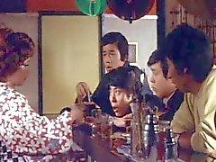 Amor emoção da Classe As técnicas de 1972 (cenas o sexo em grupo )